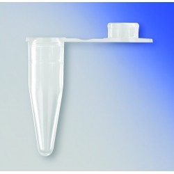 Tubo PCR pared delgada 0.2 ml. PCR. Tapa...